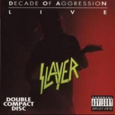 slayer decade of agression duplo Importado