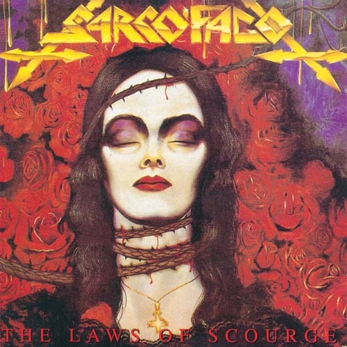Sarcofago -The Laws of Scourge ( vinil preto, importado, gatefold)