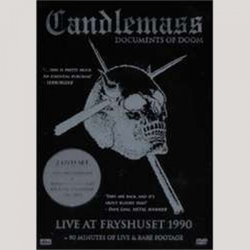 Candlemass - Documents of Doom (DVD Duplo)