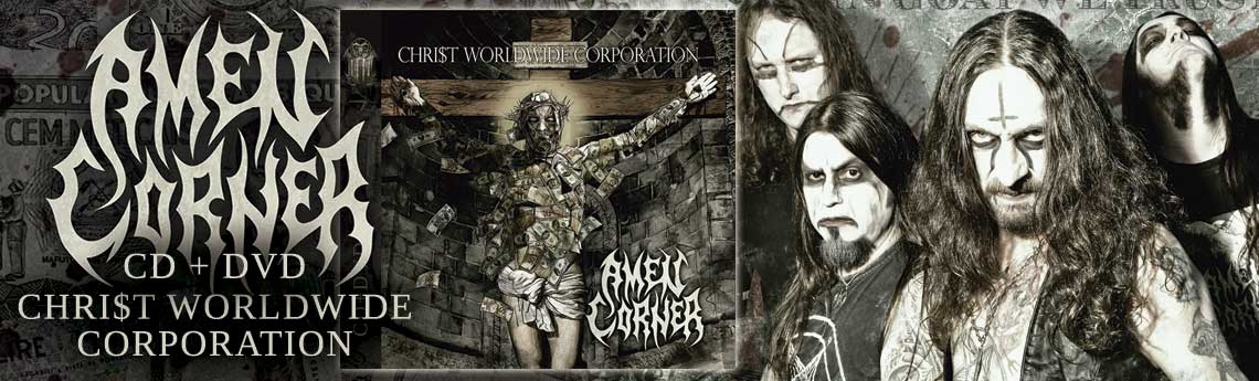 Amen Corner - Christ Worldwide Corporation( CD + DVD) já disponivel